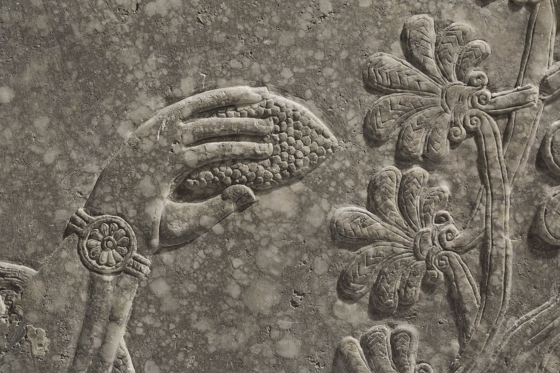 Assyrian relief panel_8