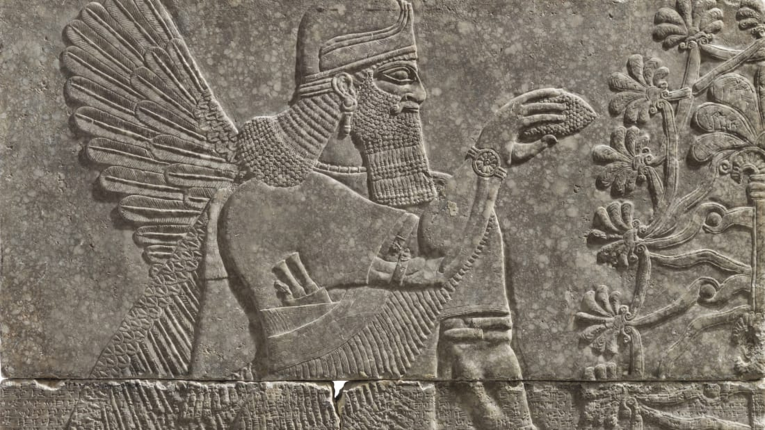 Assyrian relief panel_14