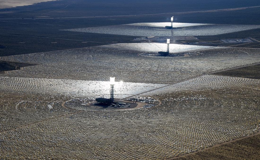 Ivanpah Solar Electric Generating System california