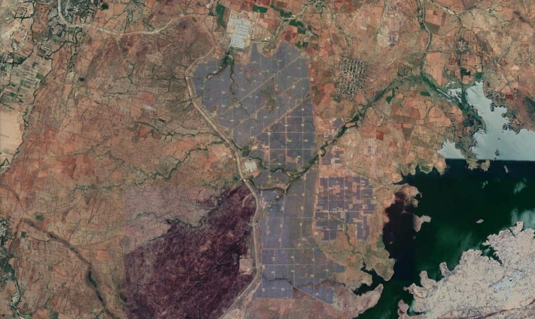 NP Kunta Ultra Mega Solar Park google earth
