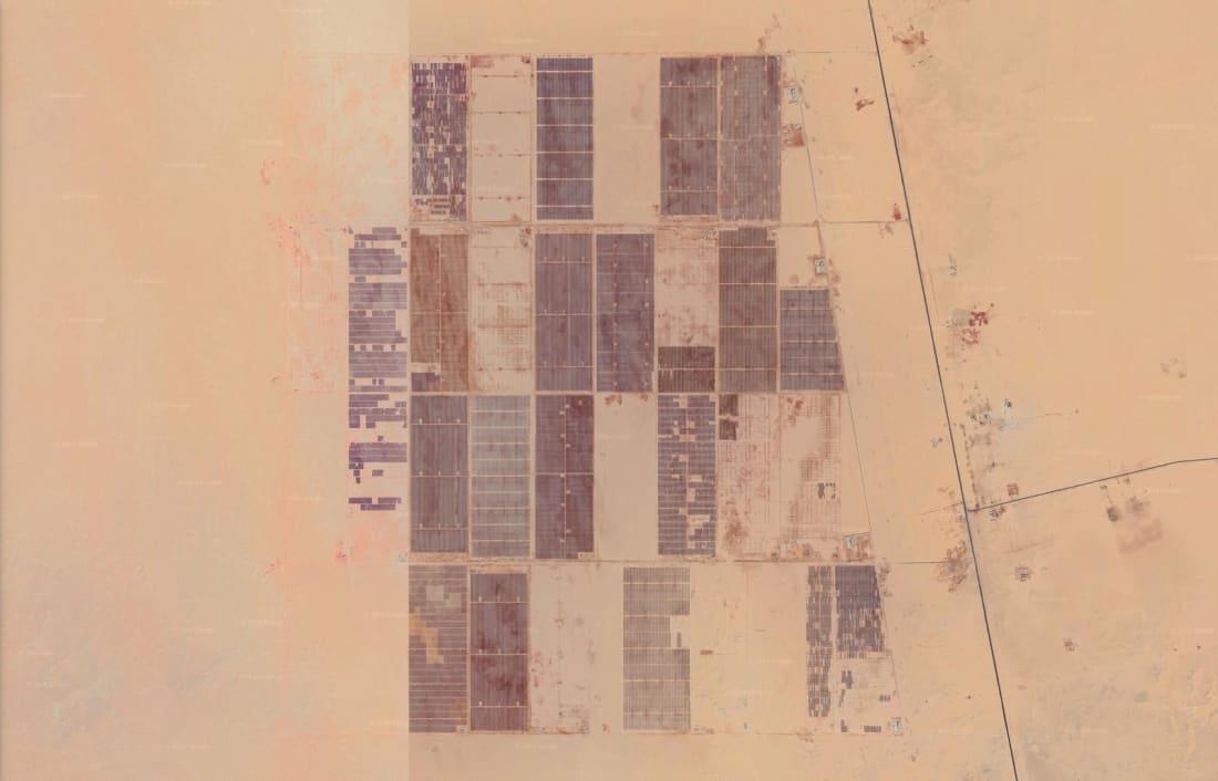 Benban solar park egypt gogle earth april 2019