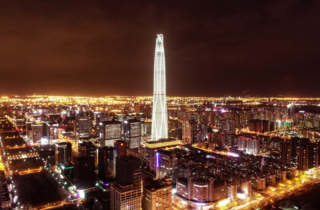 China Zun tallest buildings RESTRICTED
