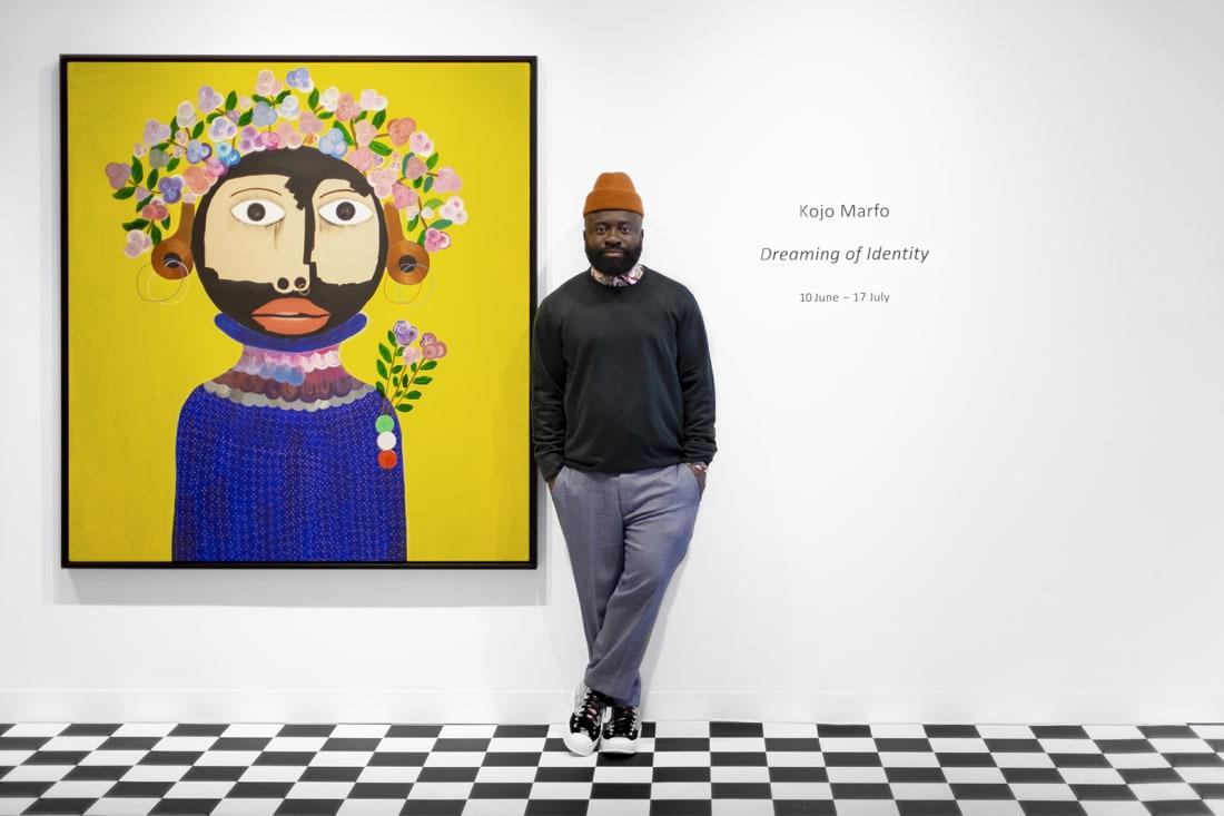 19 Ghana Kojo Marfo London exhibition RESTRICTED