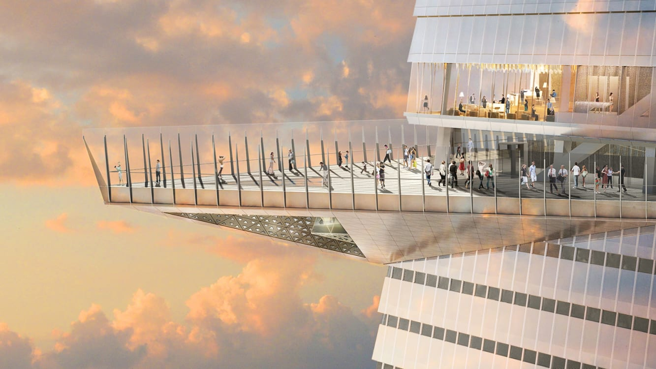 "New York to open tallest outdoor observation deck ""EDGE"" in Western Hemisphere"