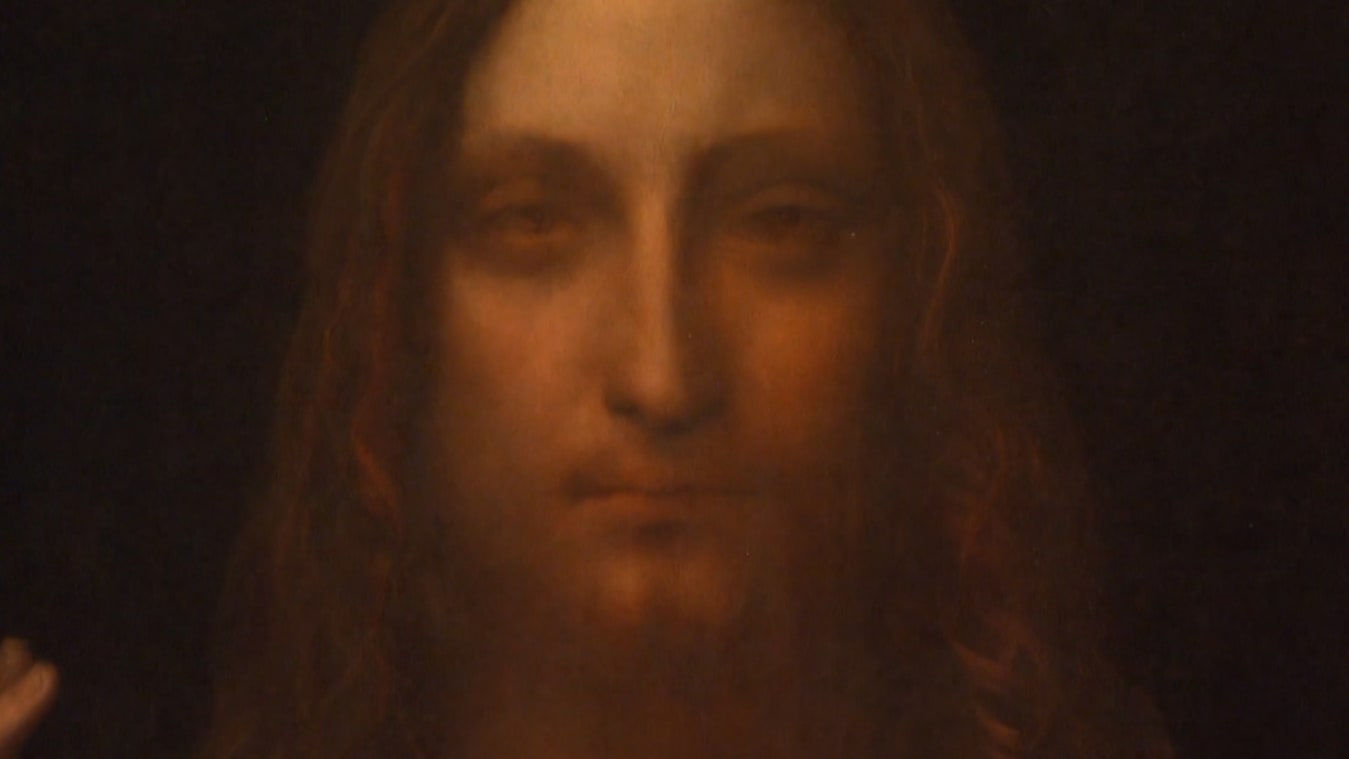 "Da Vinci's ""Salvator Mundi"" was sold at auction in 2017 for over $450 million"