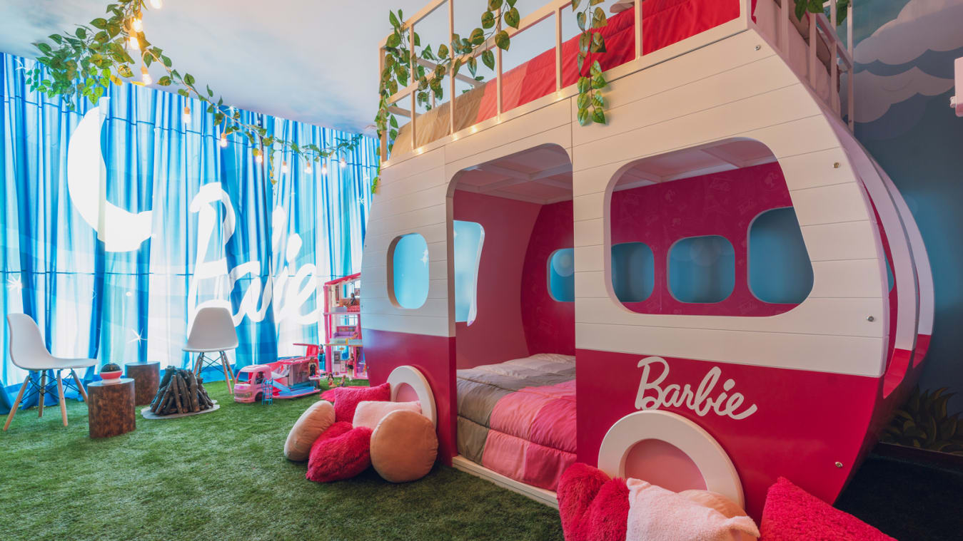 Barbie®-Themed Glamping Experience - Hilton Hotels & Resorts