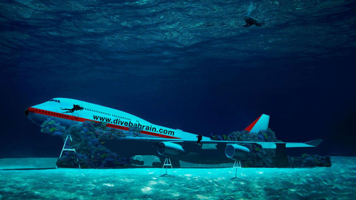Bahrain Boeing Dive
