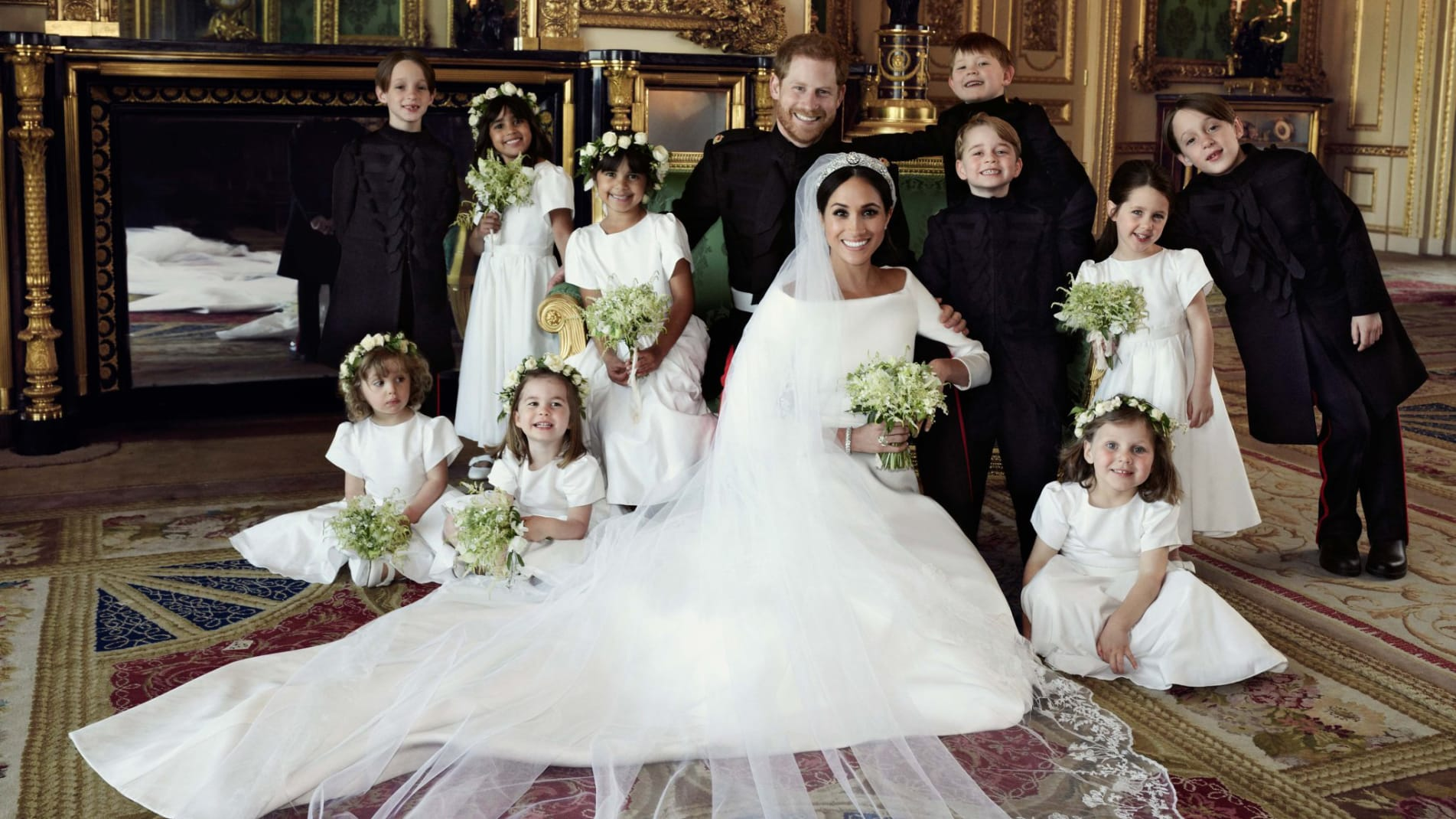 02 royal wedding official portraits