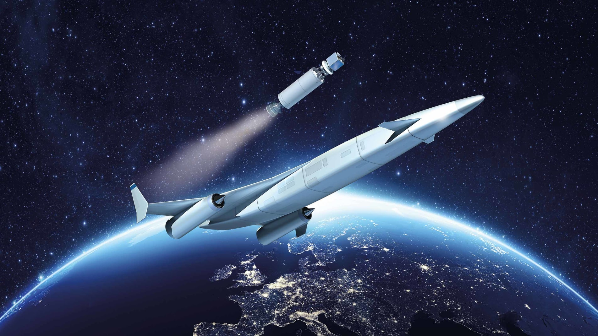The engine could be used to propel aircraft into space.