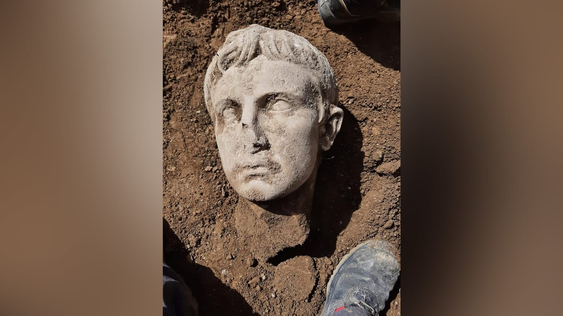 Archaeologists in central Italy have uncovered a marble head of Augustus Caesar, the first emperor of the Roman empire. The sculpture was discovered while renovating Isernia's historic city walls - built during the imperial Rome period.