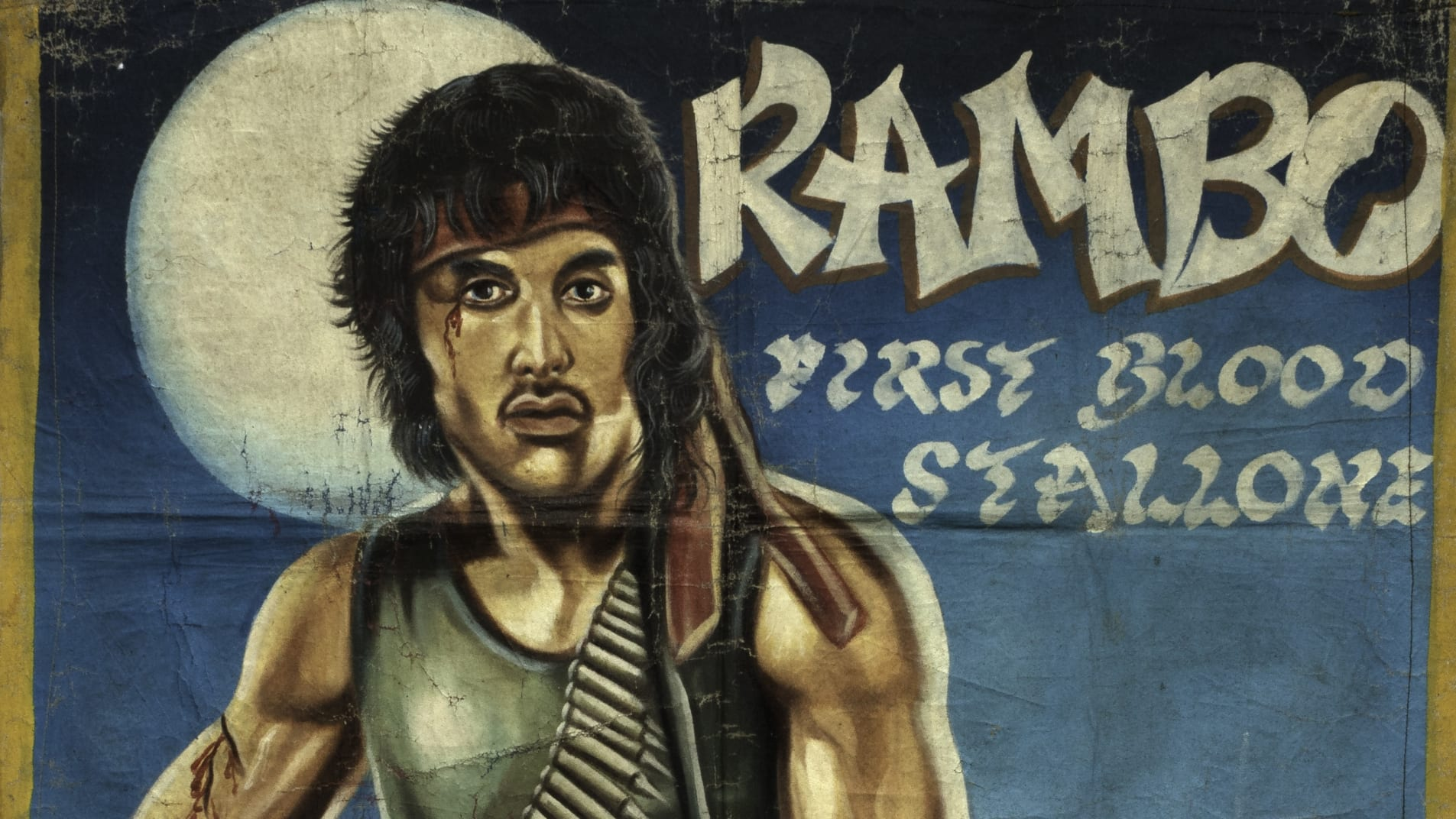 The unexpected art of Ghana's hand-painted movie posters