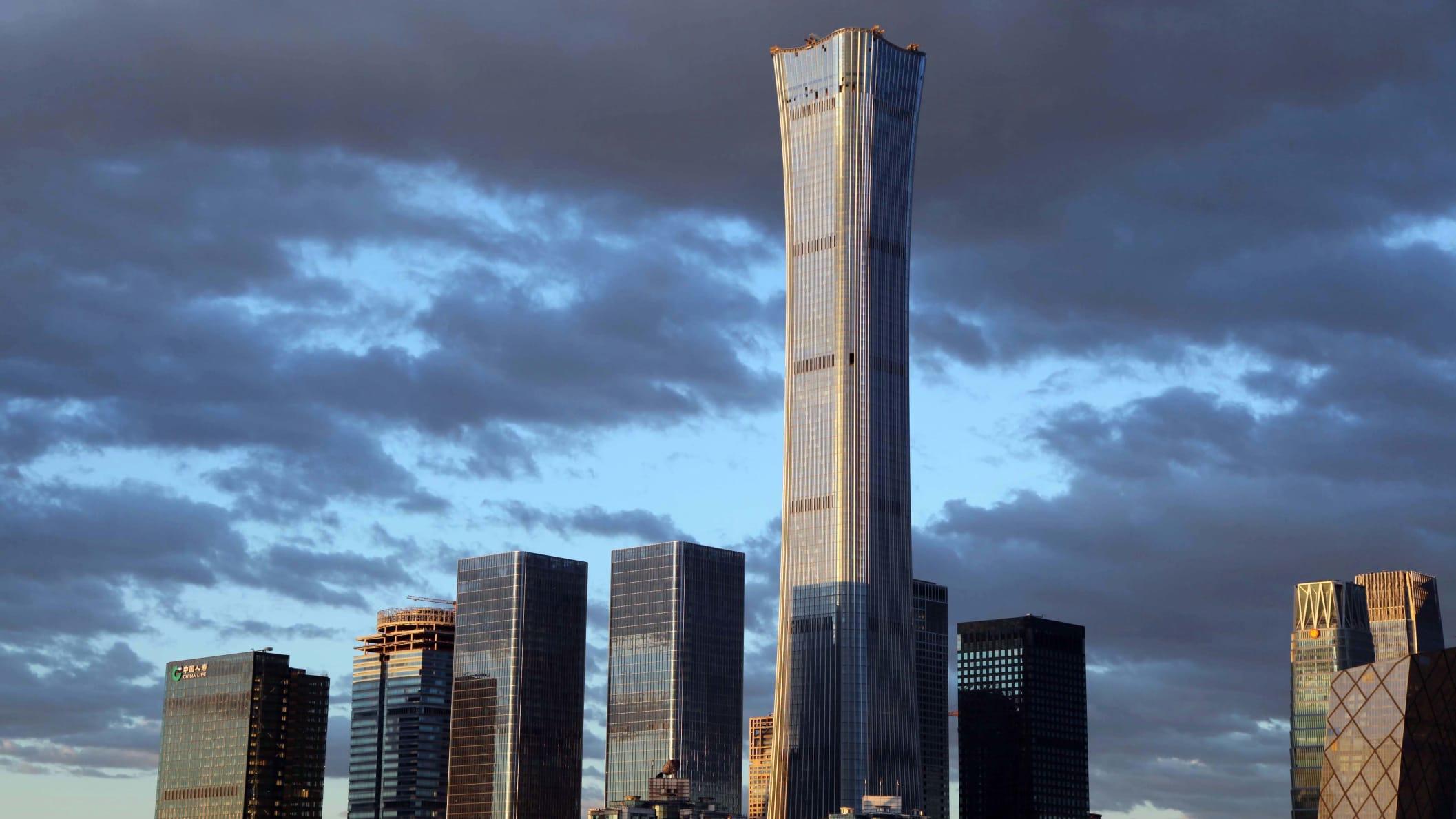 中国在2018年建造的摩天大楼比以往任何时候都多