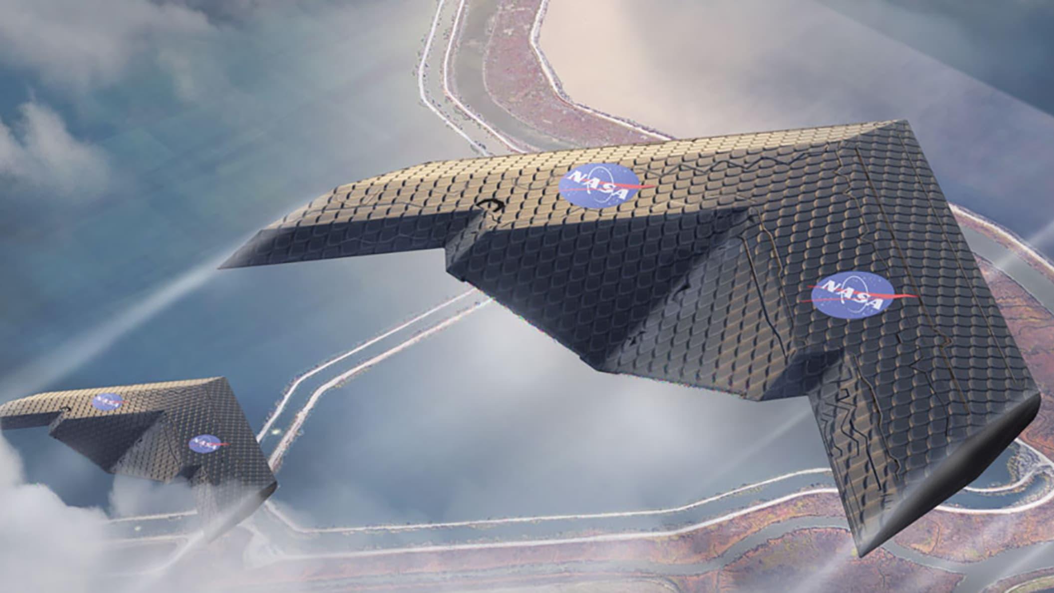 新的飞机机翼像鸟一样移动,可以从根本上改变飞机的设计