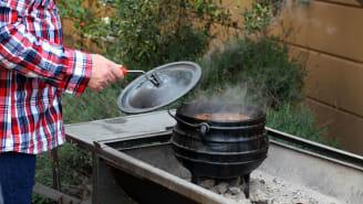 Big, brash, boiling bowl of goodness.