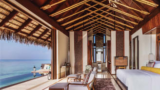 The One&Only Reethi Rah (pictured) had its doors open for most of 2020.