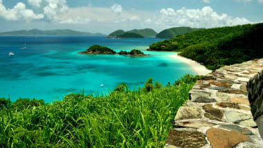 Trunk Bay St John U S Virgin Islands