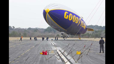 Goodyear's blimp fleet of Zeppelin airships is complete   CNN Travel