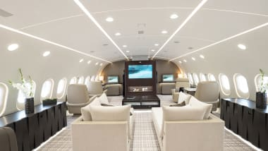 Luxury jets whisk VIPs in flying palaces | CNN Travel