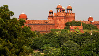 features of red fort