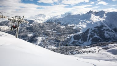 701010843f World s biggest and best ski areas  Meribel sits at the heart of the Three  Vallees