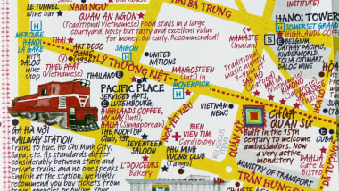 Hidden Hanoi: Map creators share city\'s secret spots | CNN Travel