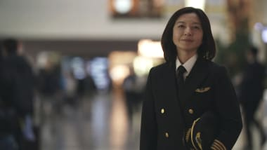 Meet Japan's first female airline captain