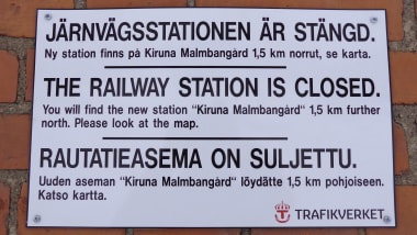 How Sweden S Arctic Millipede Town Kiruna Is Slowly Moving Cnn