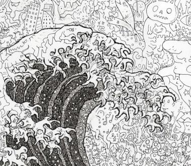 Japanese Artist Reimagines Masterpieces With Manga Cnn Style