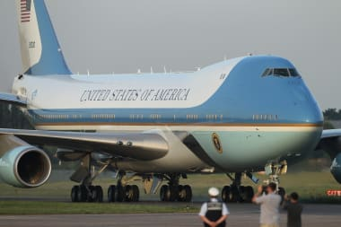 Air Force One A History Of Classic Design Cnn Style