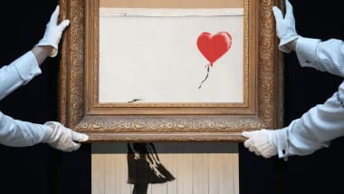 Banksy and the tradition of destroying art - CNN Style
