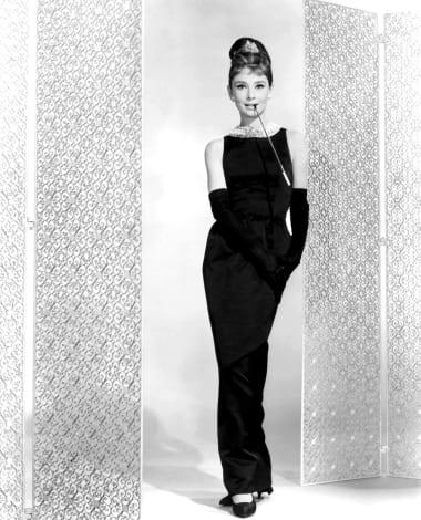 new high sold worldwide first look Audrey Hepburn's little black dress - CNN Style