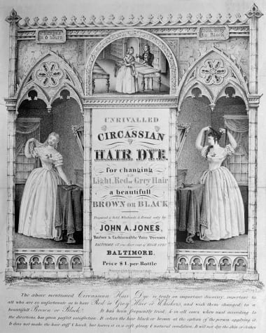 Hair dye history: From rainbow to gray - CNN Style