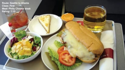 Inflight Food Reviews Websites Take Off Cnn Travel