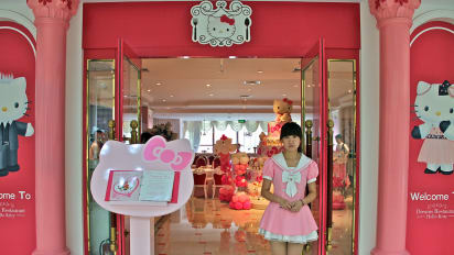 Hello Kitty Restaurant Is Terribly Cute And Its Food Is Just