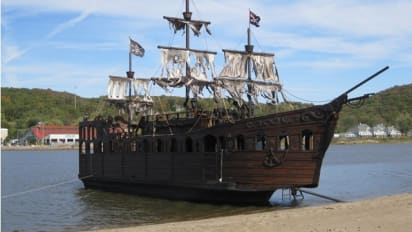 Man builds pirate ship, sells for $80,000 on Craigslist