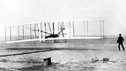 The First Powered Airplane Flight