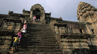 World's scariest stairs: Do you dare climb their steps