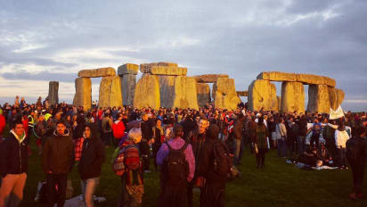 Image result for stonehenge summer