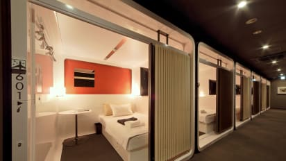 Tokyo S Capsule Hotels See Inside Some Of These Posh Pods Cnn Travel