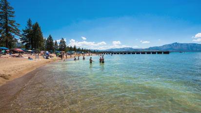 Lake Tahoe S Best Beaches In California And Nevada Cnn Travel