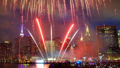 July 4 fireworks and events across the United States for