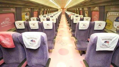 Hello Kitty Shinkansen bullet train set to roll in Japan | CNN Travel