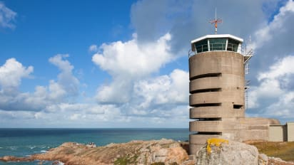 Jersey island's Radio Tower from WWII now a holiday rental | CNN Travel