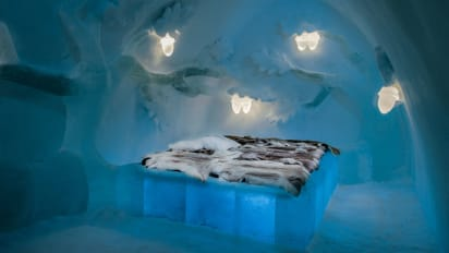 What Deep Freeze Of 2018 Revealed About >> Sweden S Icehotel Opens For 2018 2019 Season Cnn Travel