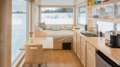 Tiny house RVs inspired by Frank Lloyd Wright let you travel