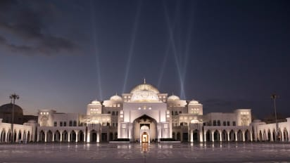 Abu Dhabi S Presidential Palace Is Now Open To Visitors Cnn Travel