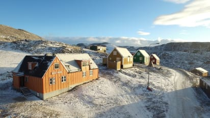 Ittoqqortoormiit, Greenland, guest house: Most remote hotel on Earth