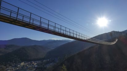 SkyBridge, longest pedestrian suspension bridge in US, to open in