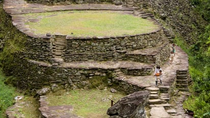 Colombia's 'Lost City': Explore mysterious Cuidad Perida