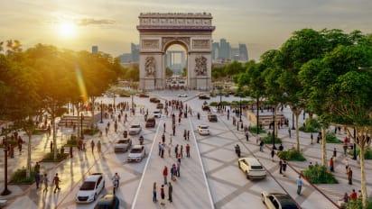 Champs-Élysées in Paris set for green overhaul | CNN Travel